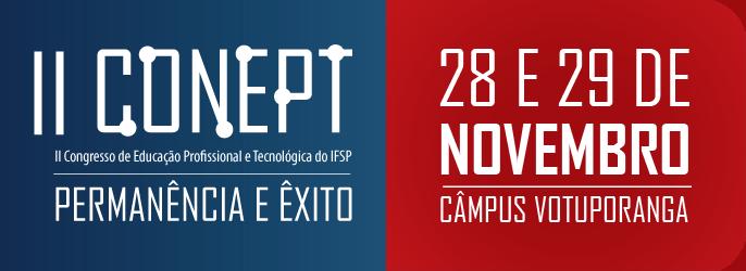 II Congresso de Educação Profissional e Tecnológica do IFSP