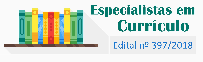 Chamada Pública - Seleção de Especialistas em Currículo